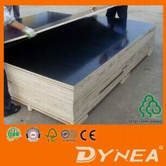 china 2 times hot press 18mm film faced plywood/marine plywood
