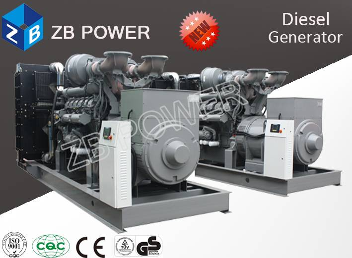600KW Generator with MAN Engine
