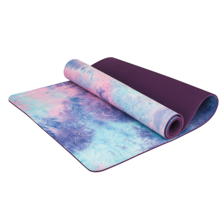 Natural Rubber Digital Printing Yoga mat Suede Sublimation Transfer Yoga mat OEM are available