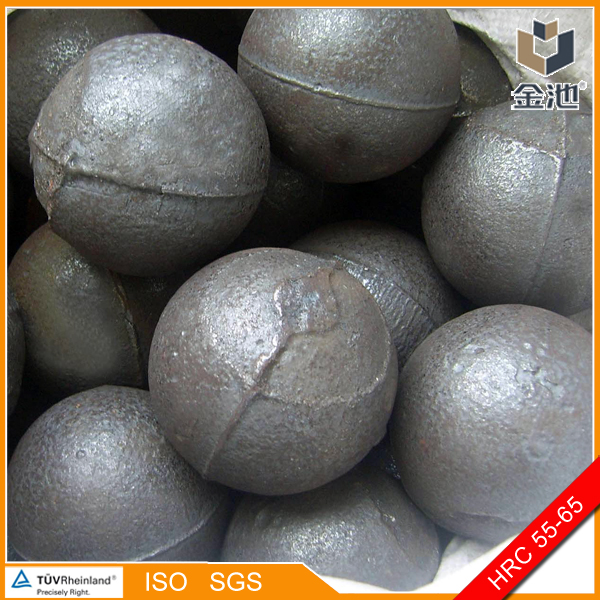 No deformation Middle chrome cast grinding balls