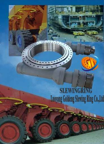 slewing drive for beam transport trailer