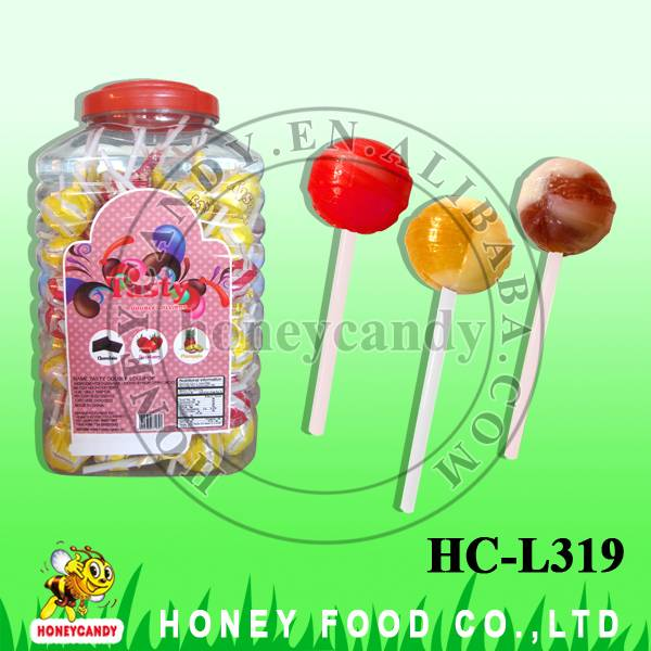 18g Tasty Double Assorted Lollipop