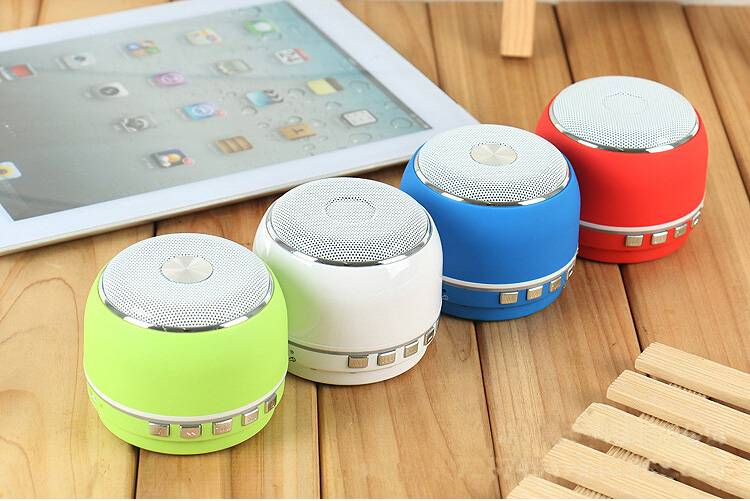New Arrival Drum Shape Bluetooth mini speaker with TF Card, FM Radio