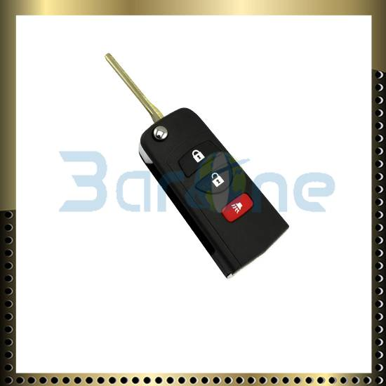 3 button car key shell for Nissan