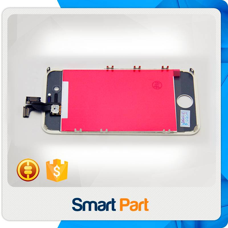 LCD display assembly with touch screen for iphone 4S for Apple black