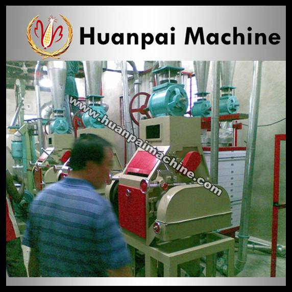 corn flour milling machine line