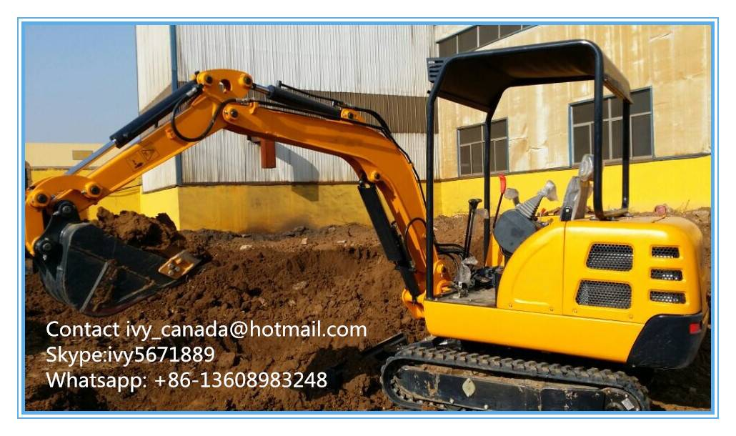 China Factory Sale CE Approved Excavator(1.8Ton)