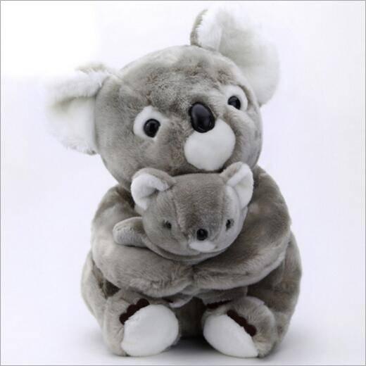 Lifelike Animal Series Plush Koala Toy
