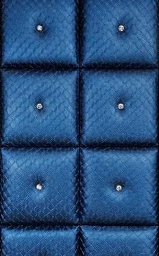 leather&fabric panel