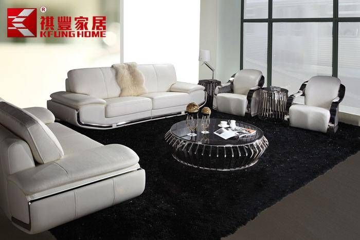 genuine leather sofa