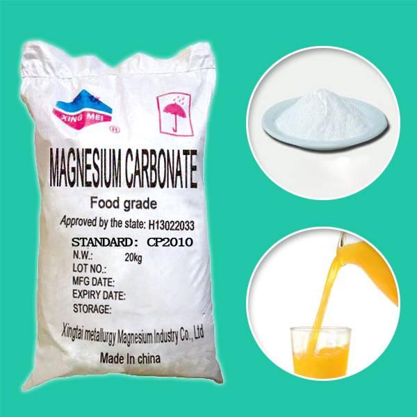 Magnesium Oxide Heavy, MgO Powder, Meishen