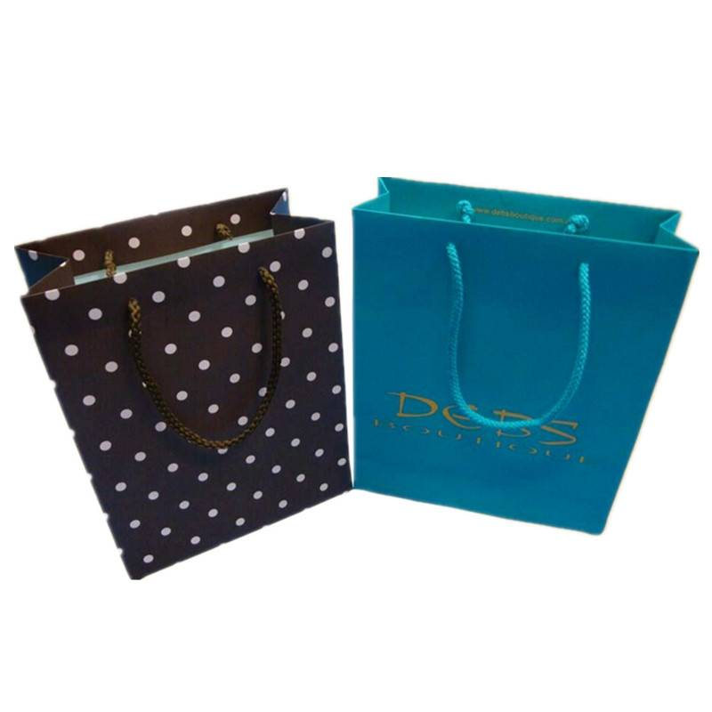 Dongguan coolrise art paper bag shopping paper bag