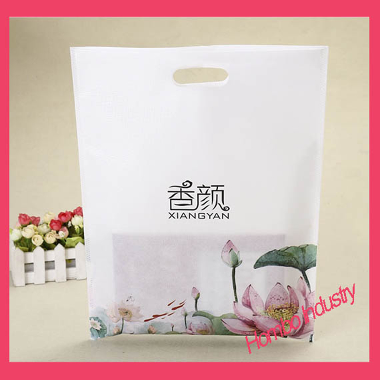 Promotion Recycle Laminated PP Non Woven Shopping Bag
