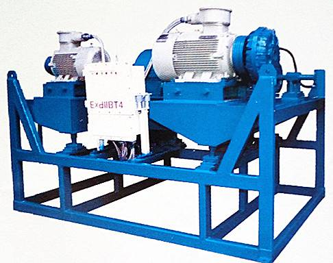 oil drilling mud solids control decanter centrifuge