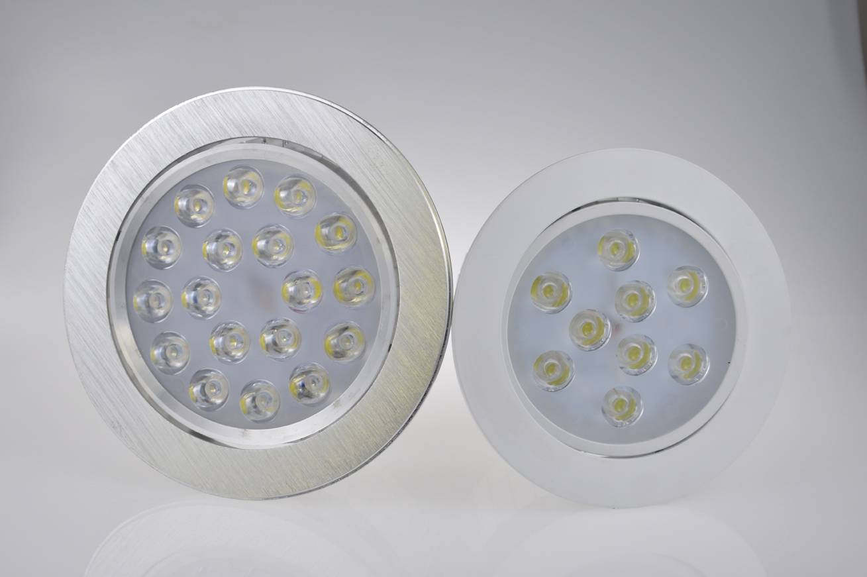 LED  ceiling light high power 2700K-6500K aluminum ceiling light