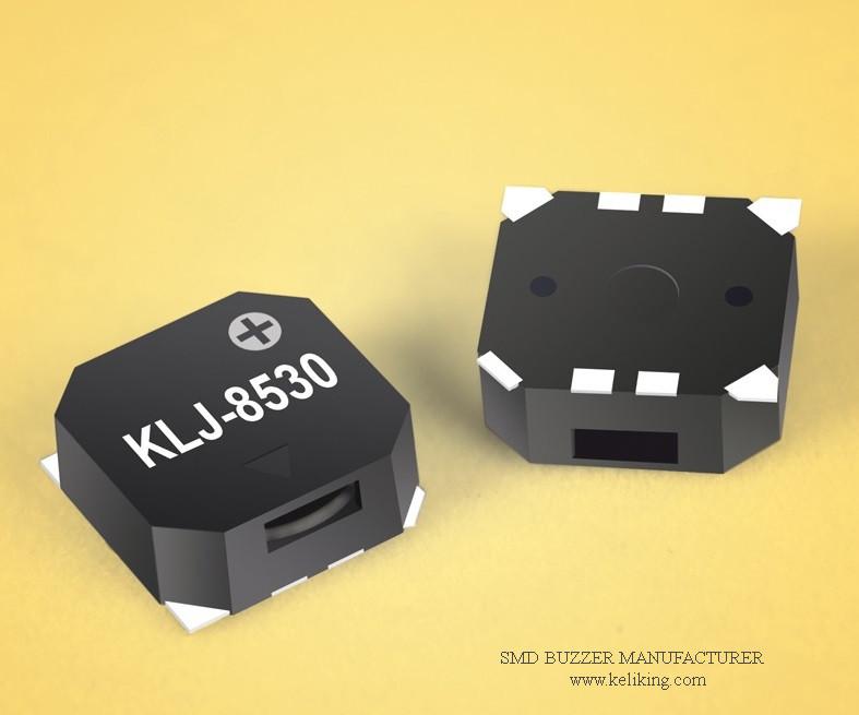 Small SMD Buzzer Alarm Speaker Magnetic Buzzer Audio Transducer L8.5mmW8.5mmH3.0mm KLJ-8530-5027