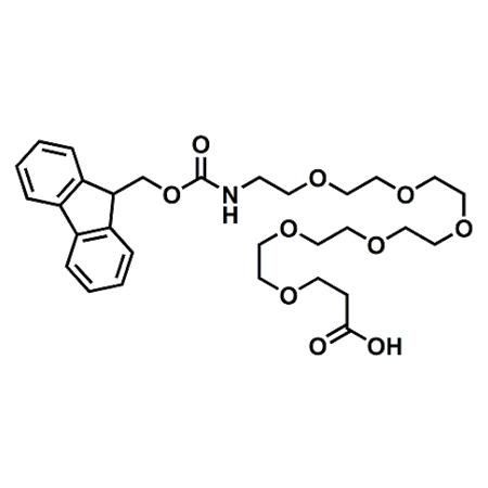 Fmoc-PEG6-propionic acid;Fmoc-21-Amino-4,7,10,13,16,19-hexaoxaheneicosanoic acid;CAS#882847-34-9