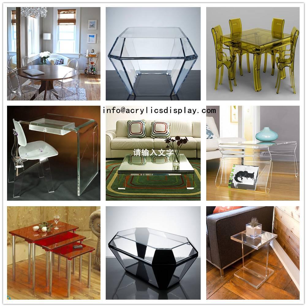 Newest Acrylic Display Coffee Table