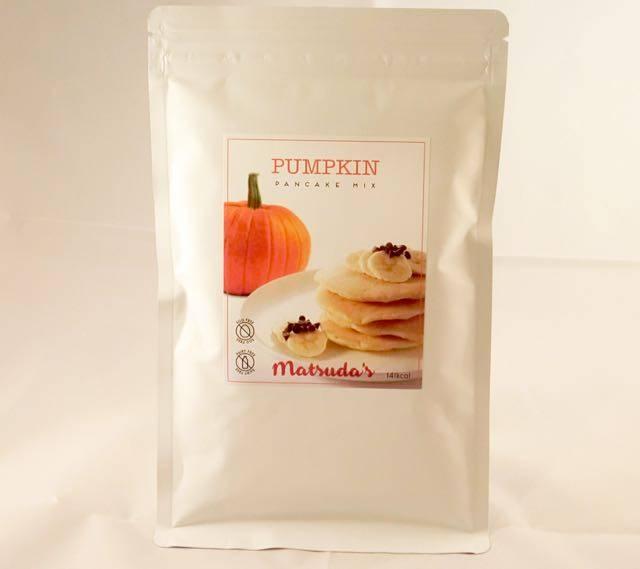 Vegan Pancake Mix (Kabocha Pumpkin flavour.)