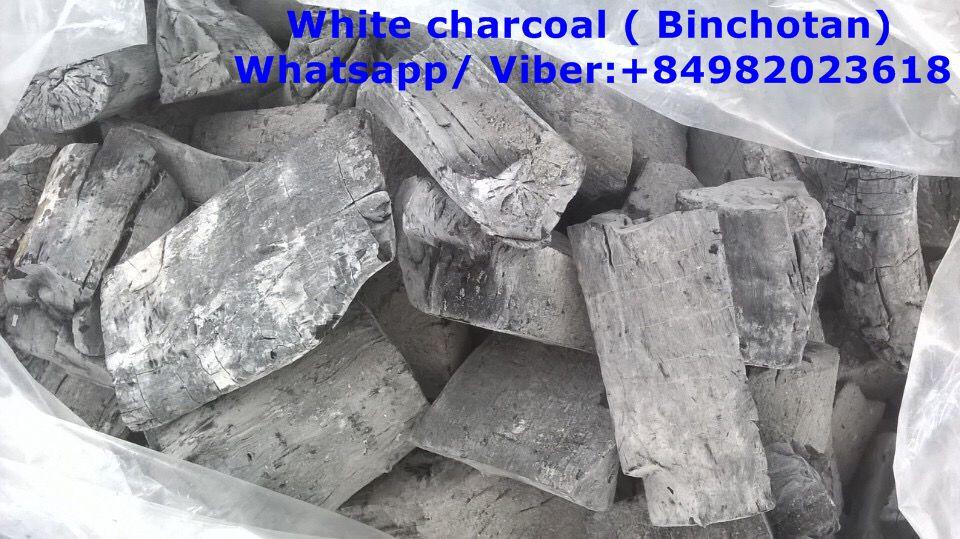 White eucalyptus charcoal