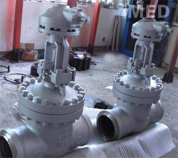 Butt Welding of High Temperature and High Pressure Gate Valves
