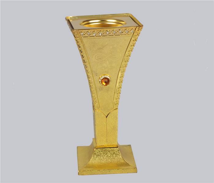 golden plating incense burner