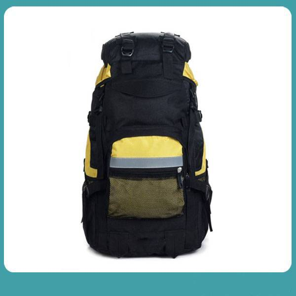 OUTDOOR WATER-RESISTANT EXTERNAL FRAME HIKING LIGHTWEIGHT 40L MOUNTAINEERING BACKPACK