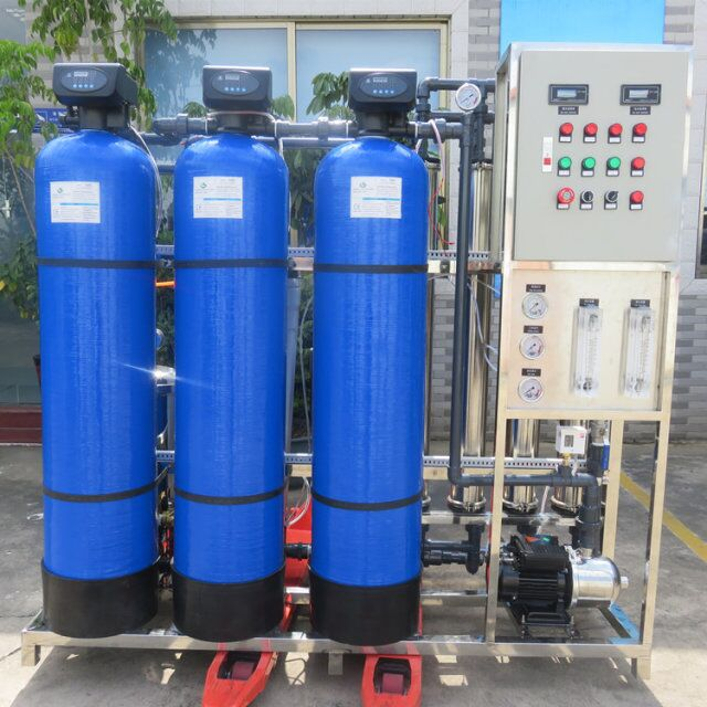 1000lph RO water treatment system