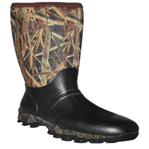 Grass blades camo fishing boots rain boots rubber boots