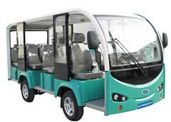 11 Sets Electric Sightseeing Car With Green Color