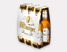 Bitburger Premium Pils Bottle, 0.33L., Bitburger Premium Pils Can, 0.33L., Kostritzer Dark Beer Bott