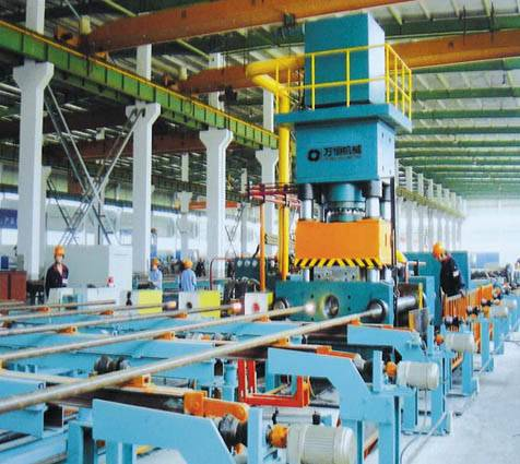 Drilling pipe or Oil Pipe End Upsetting Machine