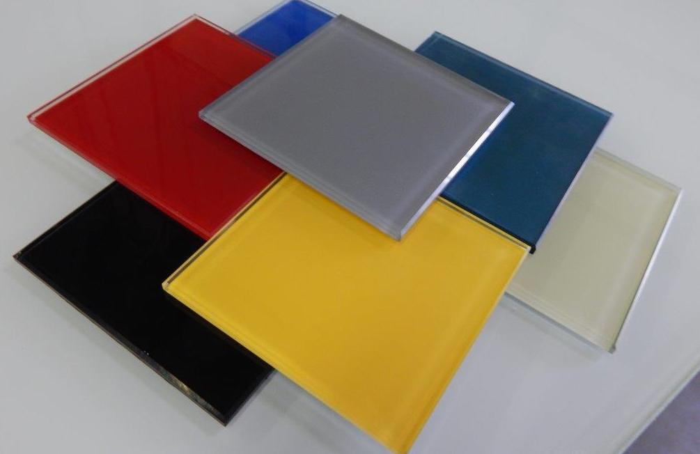 3mm to 6mm Double Coated Back Painted Glass / Lacquered Glass in Various Colors
