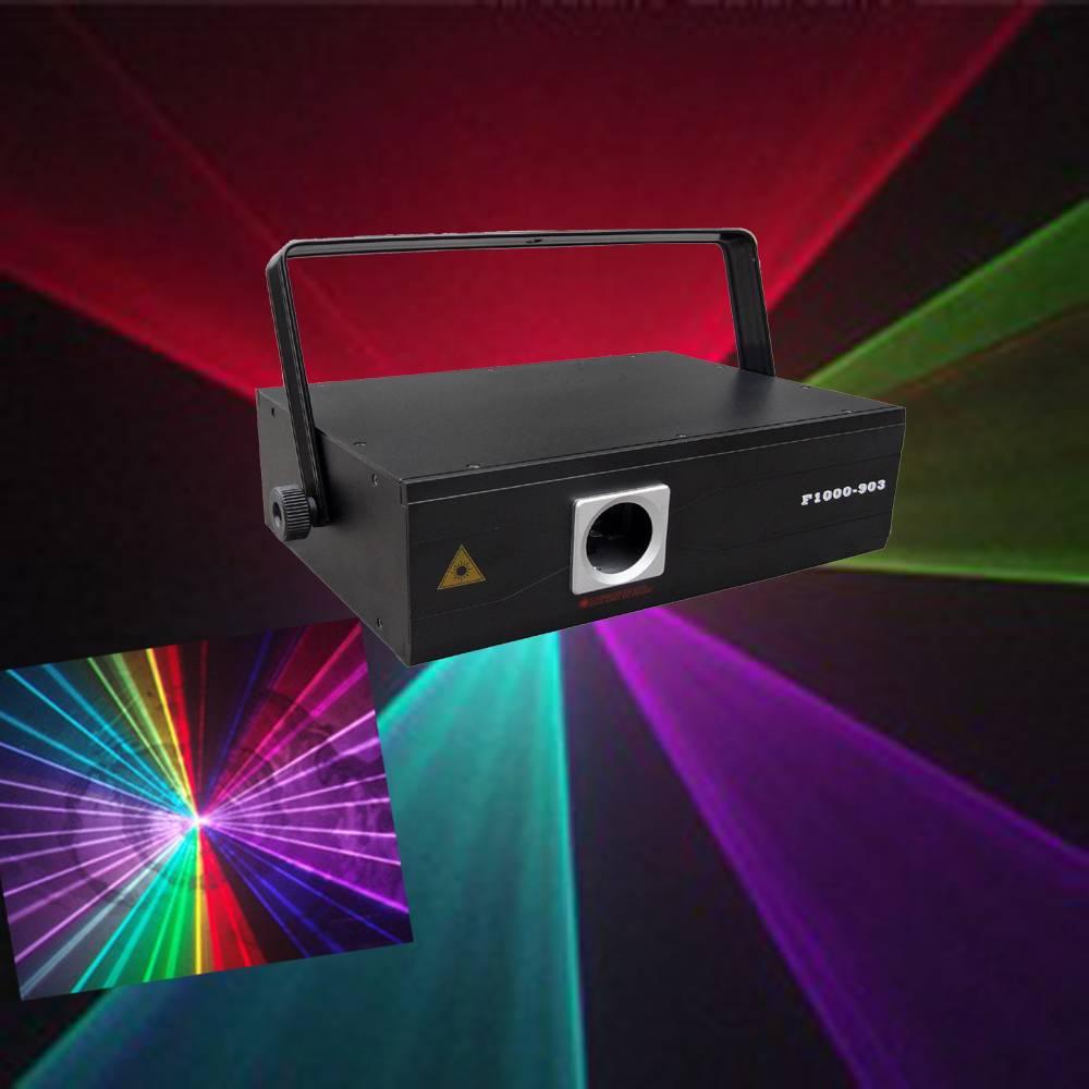 1W RGB Animation laser light for sake
