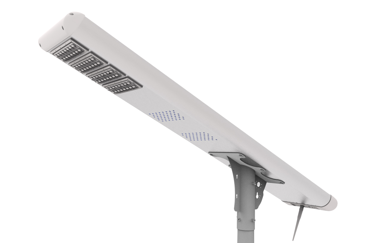 Super Bright LED All In One Automatic Solar Powered Street Light For Walk Way ,outdoor Solar Powered