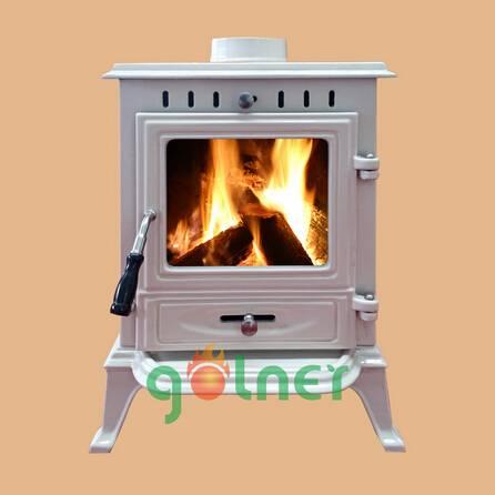 enamel wood stove