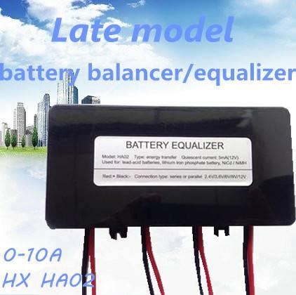 Energy transfer battery equalizer/balancer/protector 0-10A