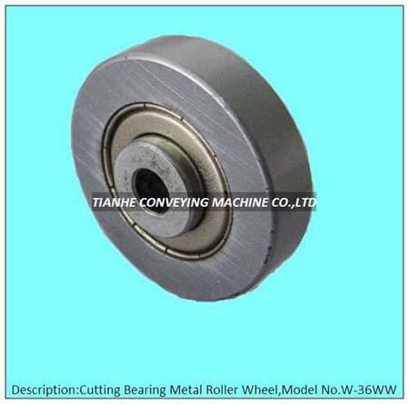 cutting metal skate wheel, cutting metal roller wheel, cutting metal track wheel