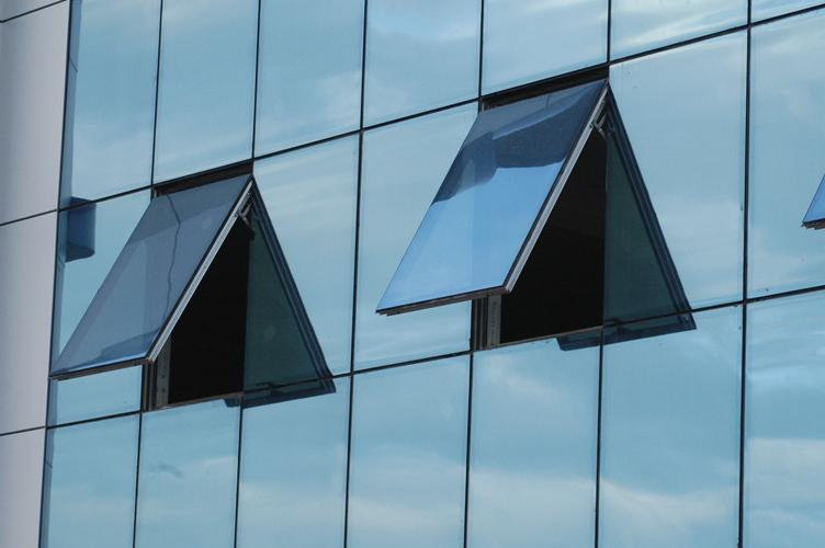 Curtain wall profiles