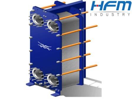 industrial water cooler heat exchanger