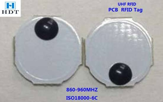 Diameter8mm UHF Alien H3 PCB Tag (HDT)