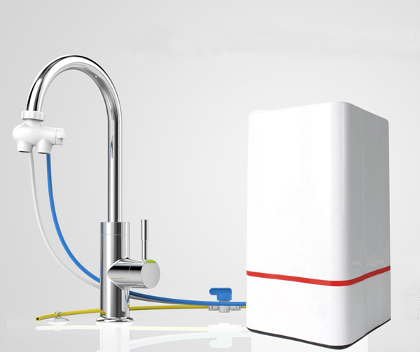 Smart 4 stage countertop water purifier/tap water filter/drinking water purifier/household water tre