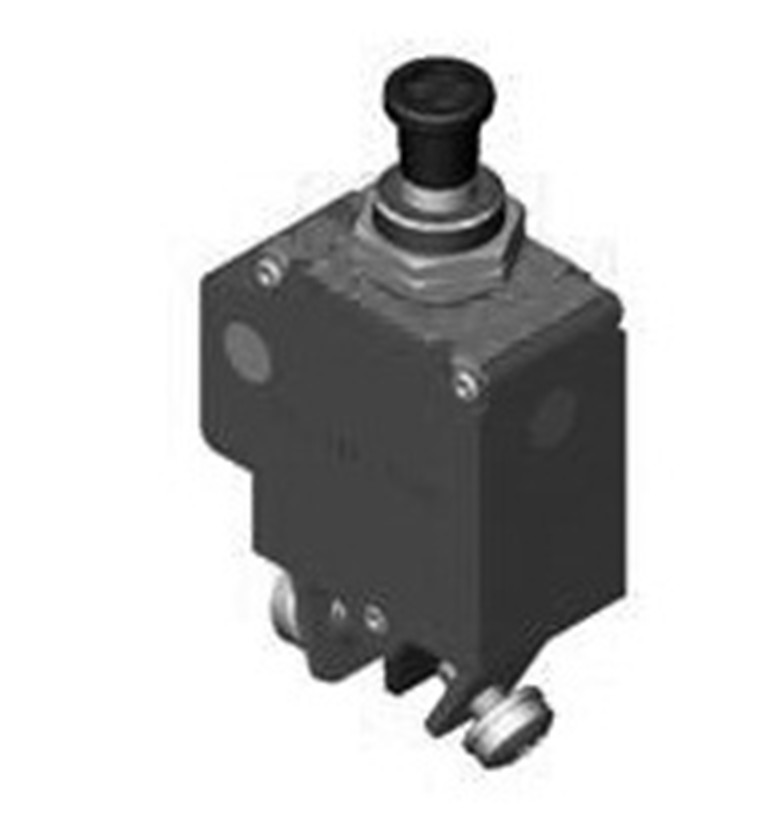 DBH-25~35 Toggle button or Push/Pull Actuator Thermal Circuit Breakers
