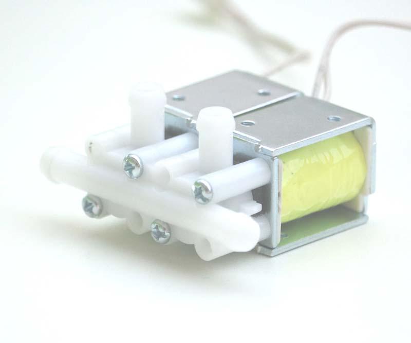 12v 24v DC Air flow control solenoid valve