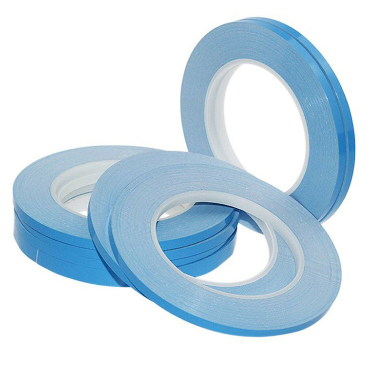 20mm x 25m x 0.2mm strong adhesive thermal tape with double-side for led