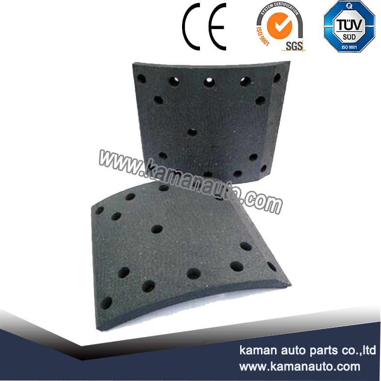 brake lining 4515E for truck and trailer