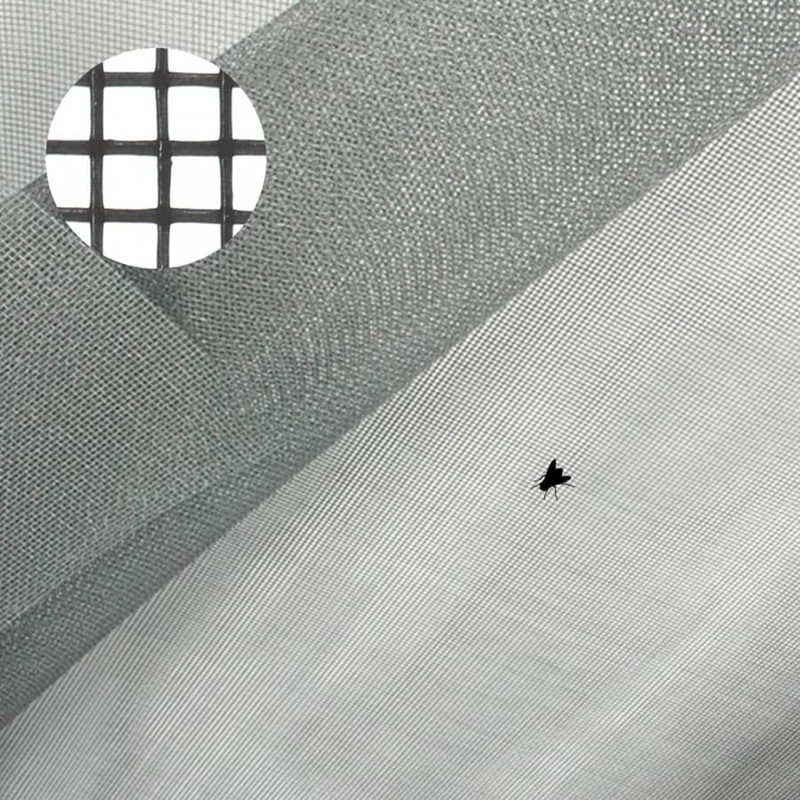 Black Coated Fiberglass Fly Screening/ Fiberglass Mosquito Net/ Insect Screen