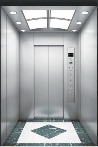 quiet and stable gearless 630 kg passenger elevator for residential