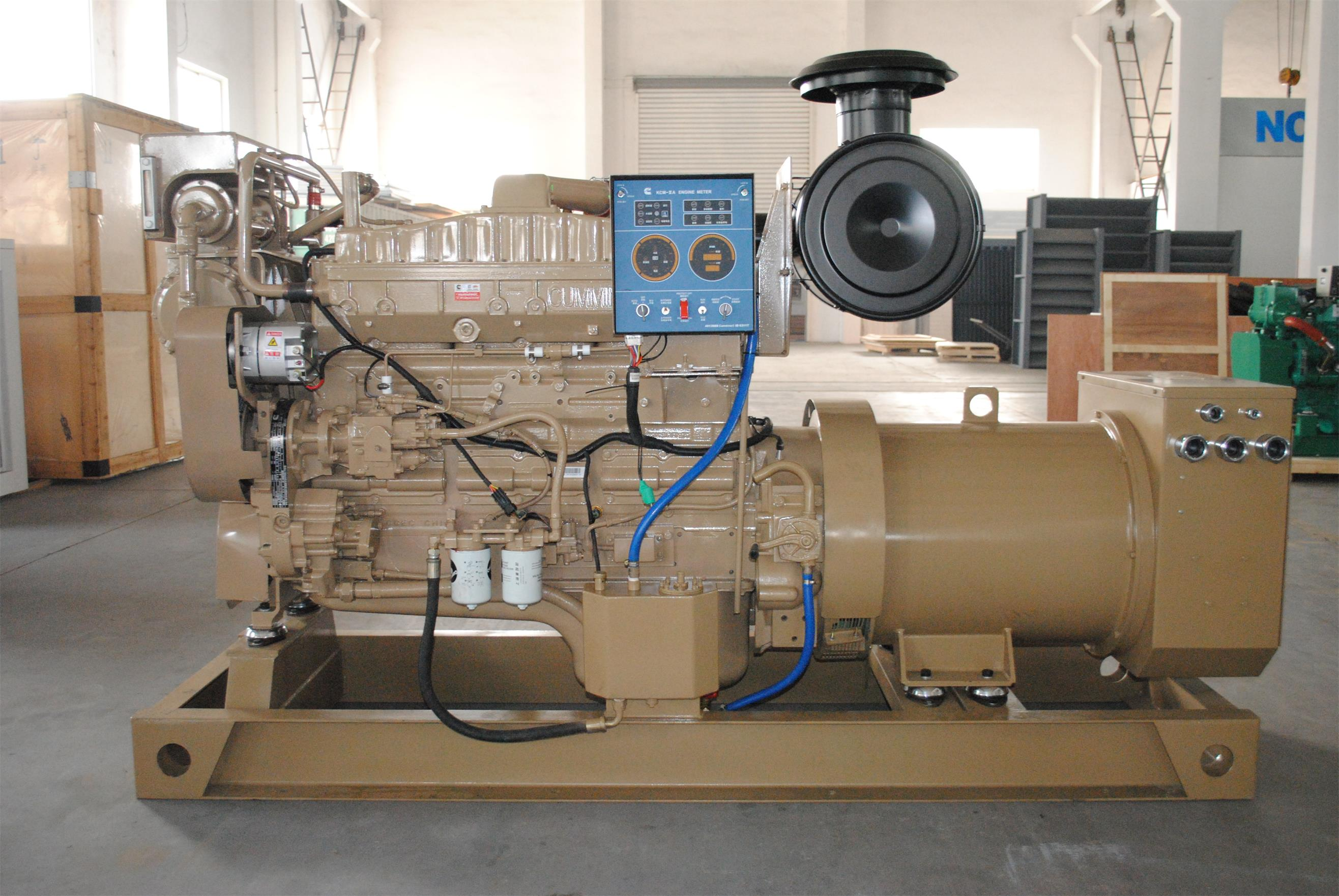 150KW marine use diesel generator set from China