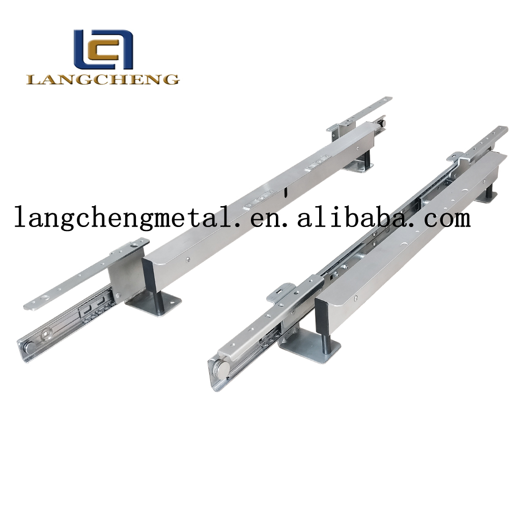 automatic lifting table slide extending table mechanism for dining table